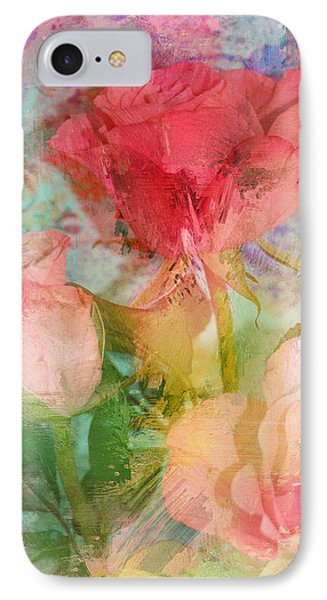 The Romance Of Roses Phone Case by Carla Parris