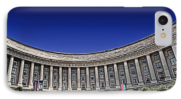 The Ronald Reagan Building And International Trade Center Phone Case by Tom Gari Gallery-Three-Photography