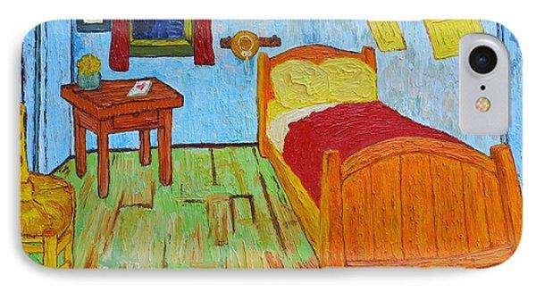 The Room Of Vincent Van Gogh Interpretation IPhone Case