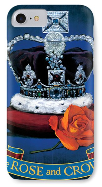 The Rose & Crown IPhone Case by Peter Green