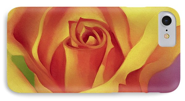 The Rose IPhone Case by Myung-Bo Sim