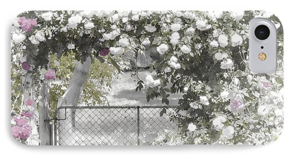 The Rose Arbor IPhone Case by Elaine Teague