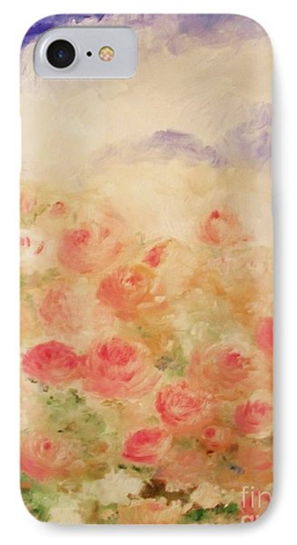 The Rose Bush IPhone Case