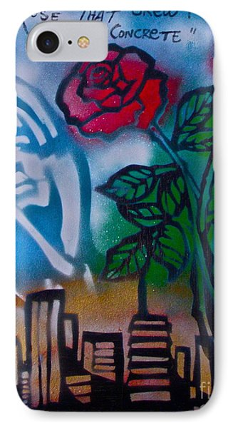 The Rose From The Concrete IPhone Case by Tony B Conscious