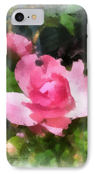 IPhone Case featuring the photograph The Rose by Kerri Farley