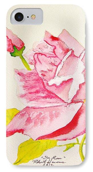 The Rose Phone Case by Robert  ARTSYBOB Havens