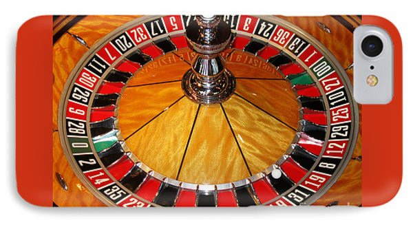 The Roulette Wheel IPhone Case by Tom Conway