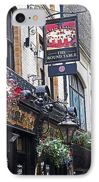 The Round Table Pub IPhone Case by Cheri Randolph