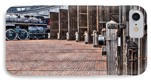 The Roundhouse IPhone Case by Keith Armstrong