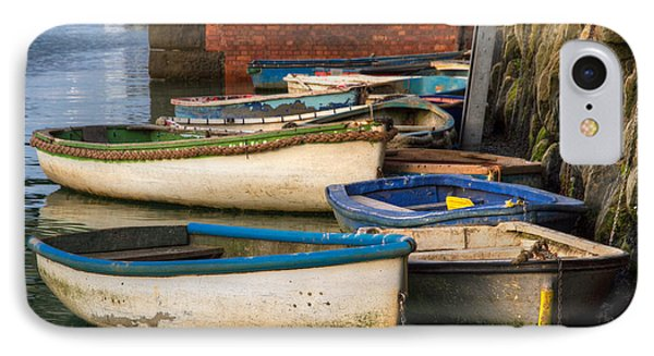 The Rowboats Of Folkestone IPhone Case by Tim Stanley