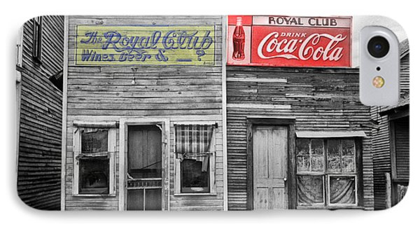 The Royal Club Phone Case by Bill Cannon