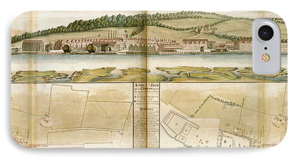 The Royal Dockyard IPhone Case by British Library