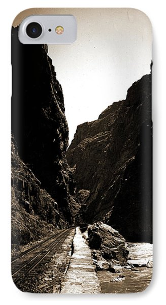 The Royal Gorge, Colo, Jackson, William Henry, 1843-1942 IPhone Case