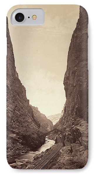 The Royal Gorge, Grand Cañon Of The Arkansas William Henry IPhone Case
