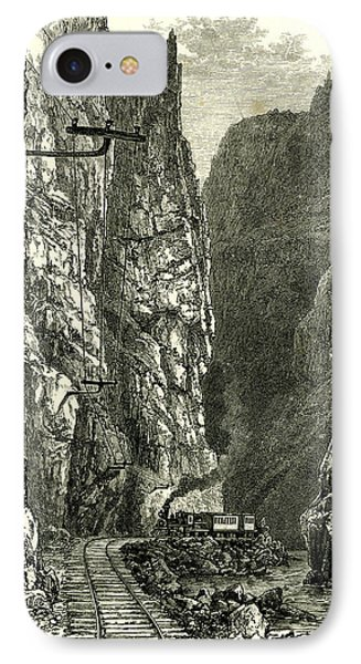 The Royal Gorge Of The Arkansas 1891 Usa IPhone Case
