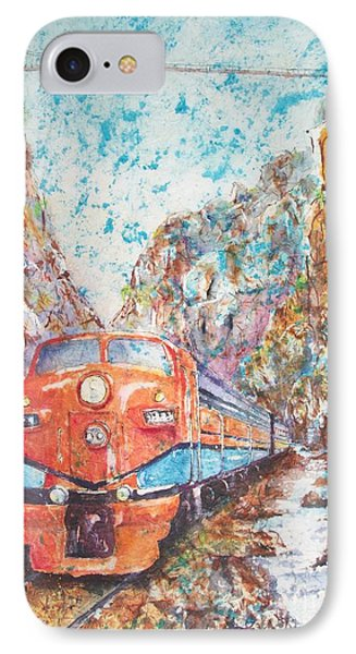 The Royal Gorge Train IPhone Case