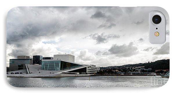 The Royal National Opera House In Oslo Norway IPhone Case by Frank Bach