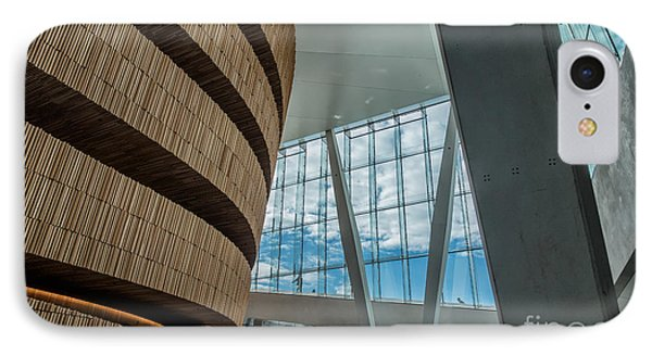The Royal National Opera House  Interior In Oslo Norway IPhone Case by Frank Bach