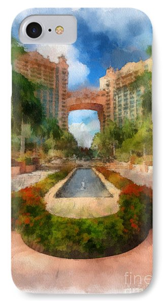 The Royal Towers Atlantis Resort Phone Case by Amy Cicconi