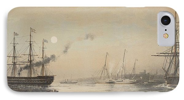 The Royal Yacht Off Margate Evening IPhone Case by English School