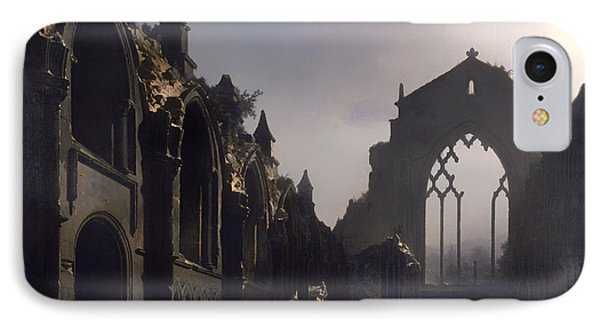 The Ruins Of Holyrood Chapel IPhone Case by Mountain Dreams