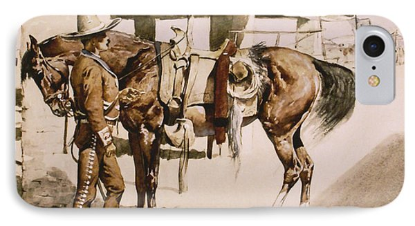 The Rural Guard Mexico Phone Case by Frederic Remington