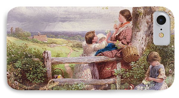 The Rustic Stile IPhone Case by Myles Birket Foster