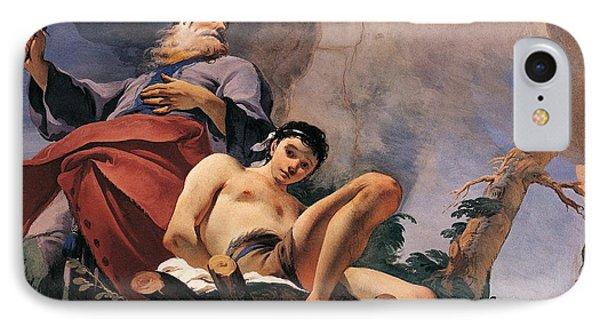 The Sacrifice Of Isaac Phone Case by Giovanni Battista Tiepolo