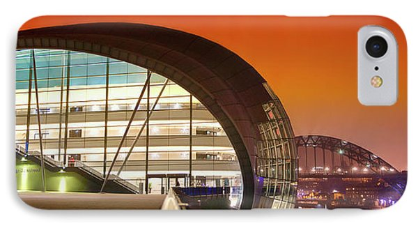 The Sage And River Tyne Illuminated IPhone Case by John Short