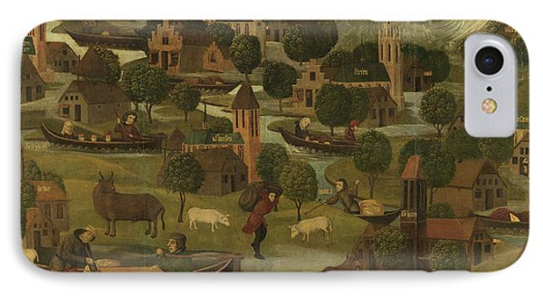 The Saint Elizabeth's Day Flood, Master Of The St IPhone Case