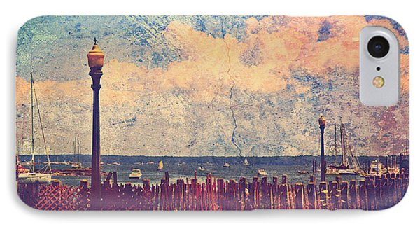 The Salty Air Sea Breeze In Her Hair Iv IPhone Case by Aurelio Zucco