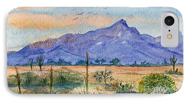 The San Tans IPhone Case by Marilyn Smith