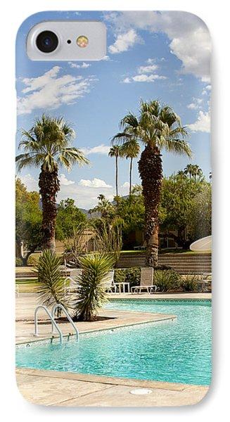 The Sandpiper Pool Palm Desert IPhone Case