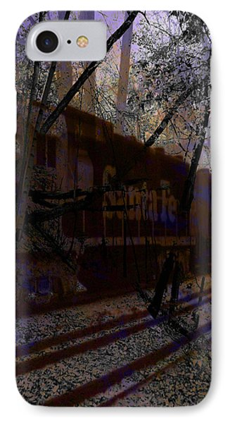 IPhone Case featuring the digital art The Santa Fe by Cathy Anderson