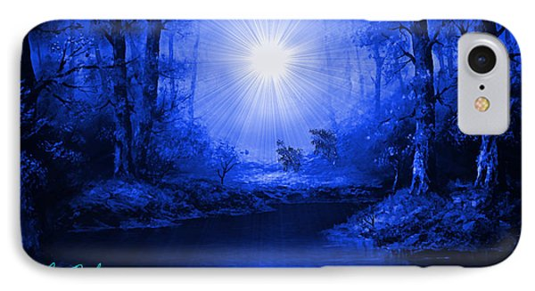 The Sapphire Forest IPhone Case by Michael Rucker