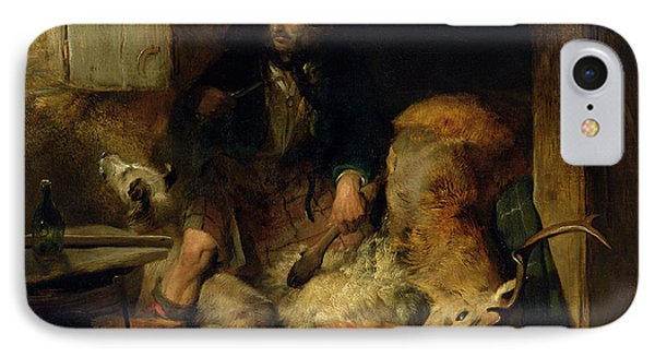 The Savage IPhone Case by Sir Edwin Landseer