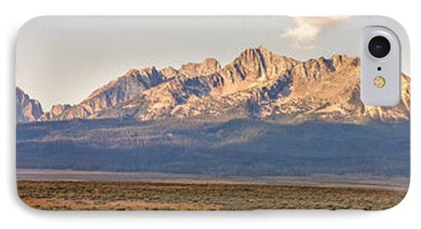 The Sawtooths' Phone Case by Robert Bales