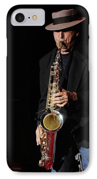 The Sax Man Phone Case by Kenny Francis