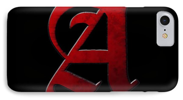 The Scarlet Letter IPhone Case by Dan Sproul