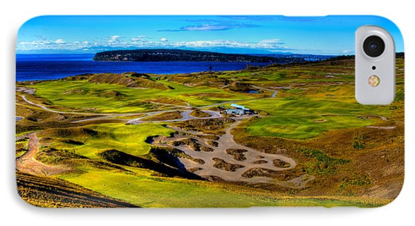The Scenic Chambers Bay Golf Course IIi - Location Of The 2015 U.s. Open Tournament IPhone Case by David Patterson