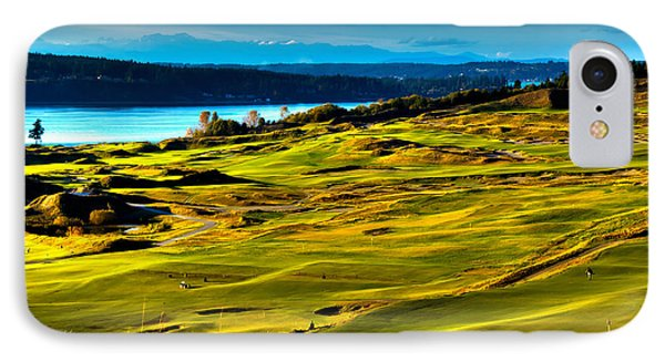 The Scenic Chambers Bay Golf Course - Location Of The 2015 U.s. Open Tournament IPhone Case
