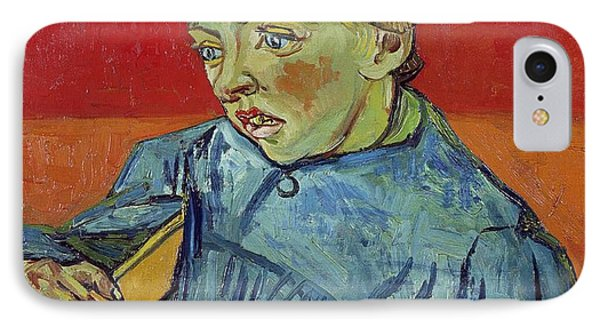 The Schoolboy IPhone Case by Vincent Van Gogh
