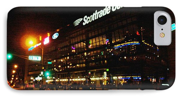 The Scott Trade Center IPhone Case by Kelly Awad