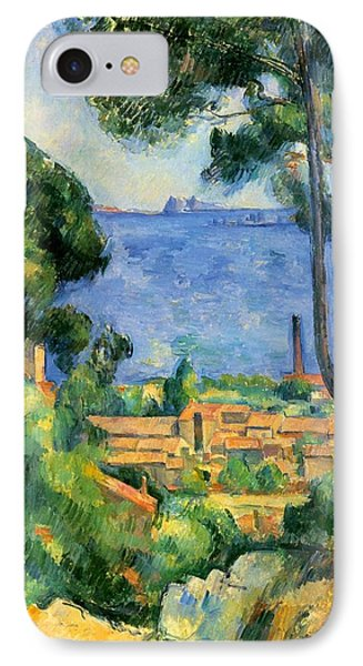 The Sea At The Estaque Phone Case by Paul Cezanne