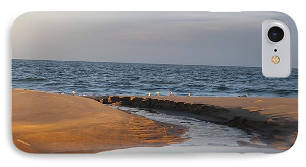 IPhone Case featuring the photograph The Sea Overcomes by Robert Banach