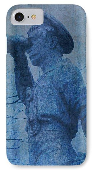 The Seaman In Blue IPhone Case