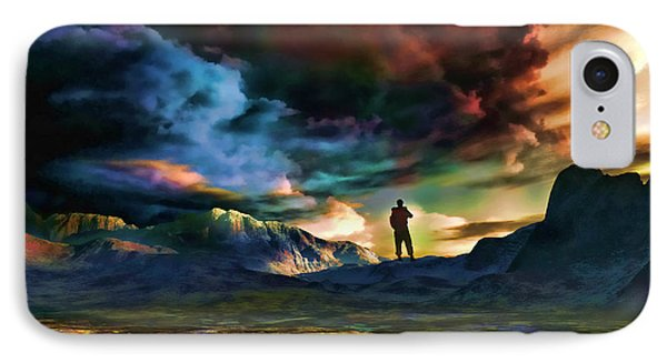The Search For Eternal Truth IPhone Case by Tyler Robbins