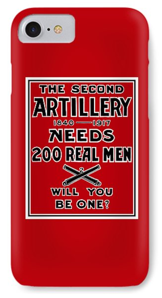 The Second Artillery Needs 200 Real Men Phone Case by War Is Hell Store