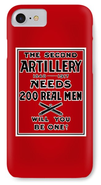 The Second Artillery Needs 200 Real Men IPhone Case