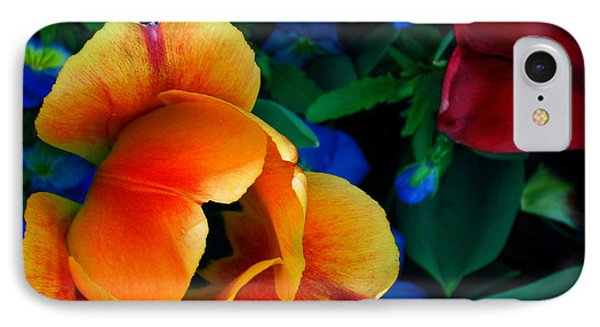 The Secret Life Of Tulips IPhone Case by Rory Sagner